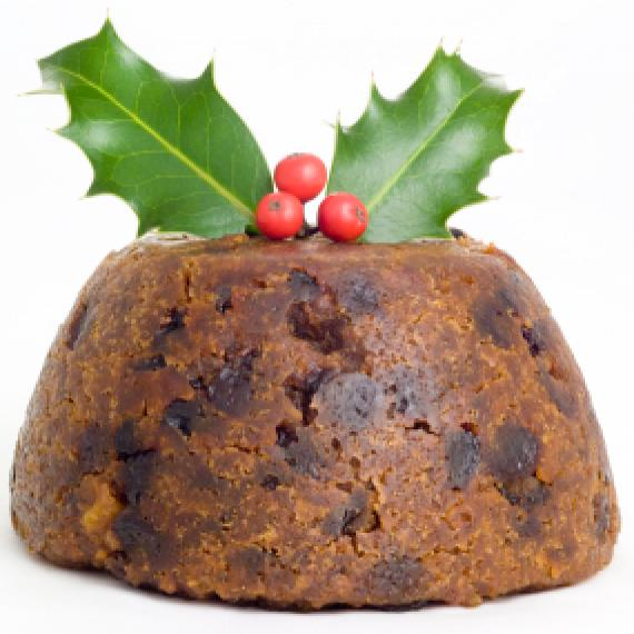 Picture of Christmas Pudding Wax Melt