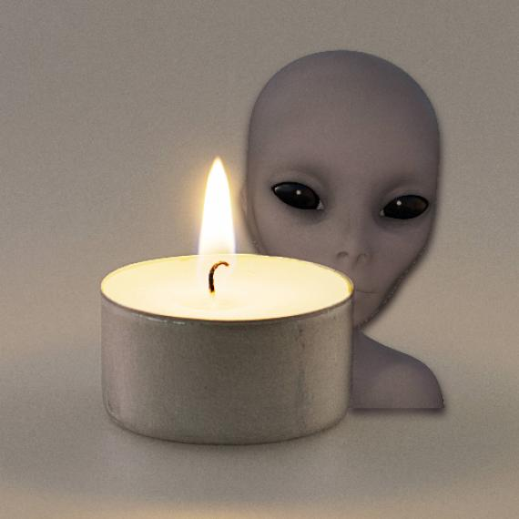 Alien Princess Scented Tealights