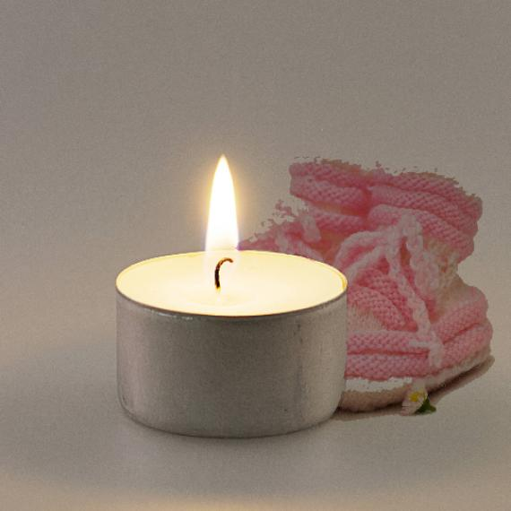 Baby Powder Scented Tealights
