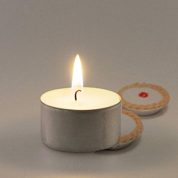 Bakewell Tart Scented Tealights