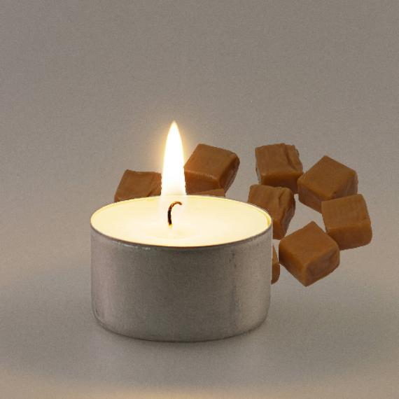 Caramel Scented Tealights