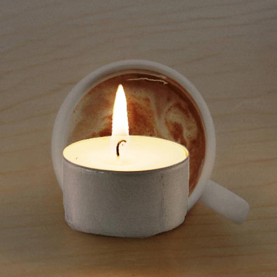 Coffee and Cream Scented Tealights