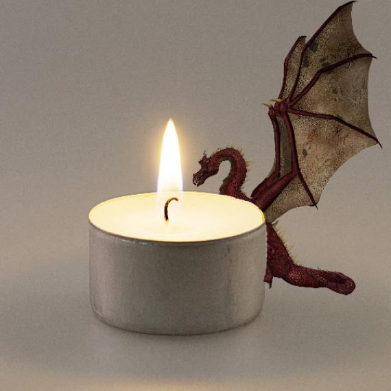 Dragon's Blood Scented Tealights