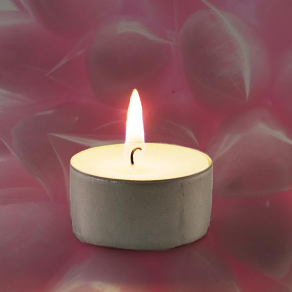 Candyfloss Scented Tealight