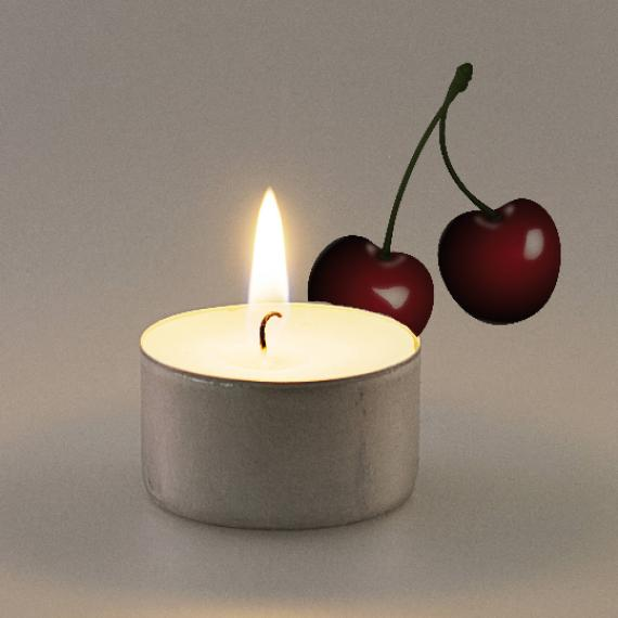 Cherry Scented Tealights
