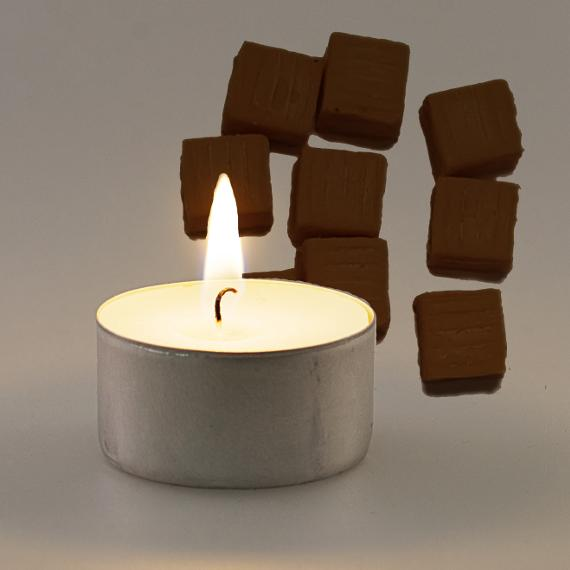 Chocolate Caramel Scented Tealights