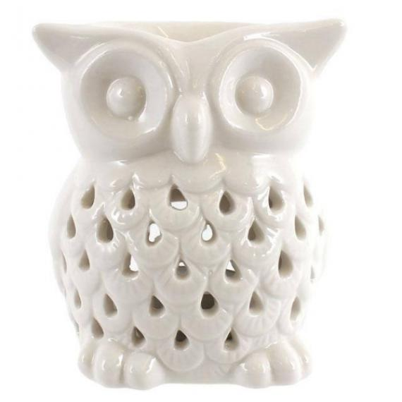 Owl Wax Burner with Tealights and Scented Wax Melt