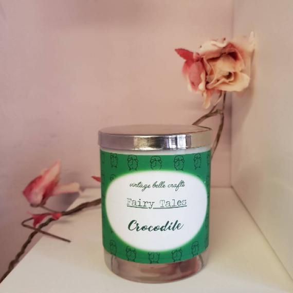 Crocodile Scented Fairytale Candle