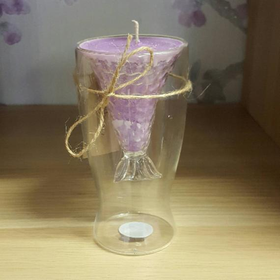 Picture of Mermaid Tail  Candle