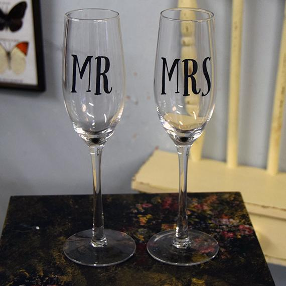 Couple's Champagne Flutes